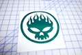 Offspring Skull Outline Sticker