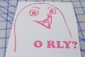 O RLY Sticker