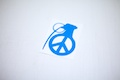 Peace Grenade Sticker