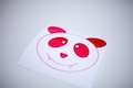 Vampire Panda Sticker