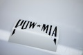 POW MIA Diecut Sticker