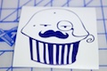 Sir Muffin Sticker