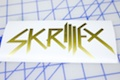 Skrillex Logo Sticker