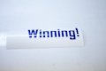 Winning Sticker