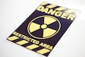 Danger Restricted Area Sticker