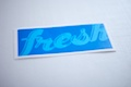 Fresh Rectangle Sticker