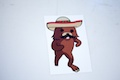 Pedrobear Sticker