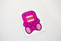 Pink Domo Sitting