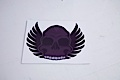 Winged Skull Sticker