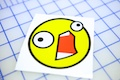 DAAAHHHH Smiley Sticker