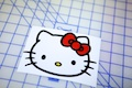 Hello Kitty Face Sticker