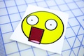 Shocked Big Mouth Smiley Sticker
