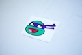 Ninja Turtle Donatello Smiley Sticker