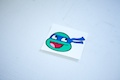Ninja Turtle Leonardo Smiley Sticker