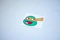 Ninja Turtle Michelangelo Smiley Sticker