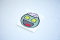 Zombie Smiley Sticker